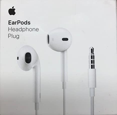 Apple EarPods in,Ear Earbuds with Mic and Remote Earbud Headphones iPhone  iOS, White (Renewed)