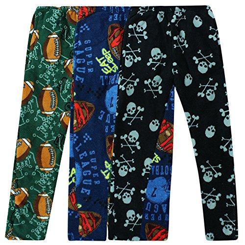 Fleece Plush PJ Pajama Bottoms/Pants Sleepwear Teen Youth