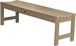 product image for highwood AD-BENN1-TAU Lehigh Backless Bench, 5 Feet, Tuscan Taupe