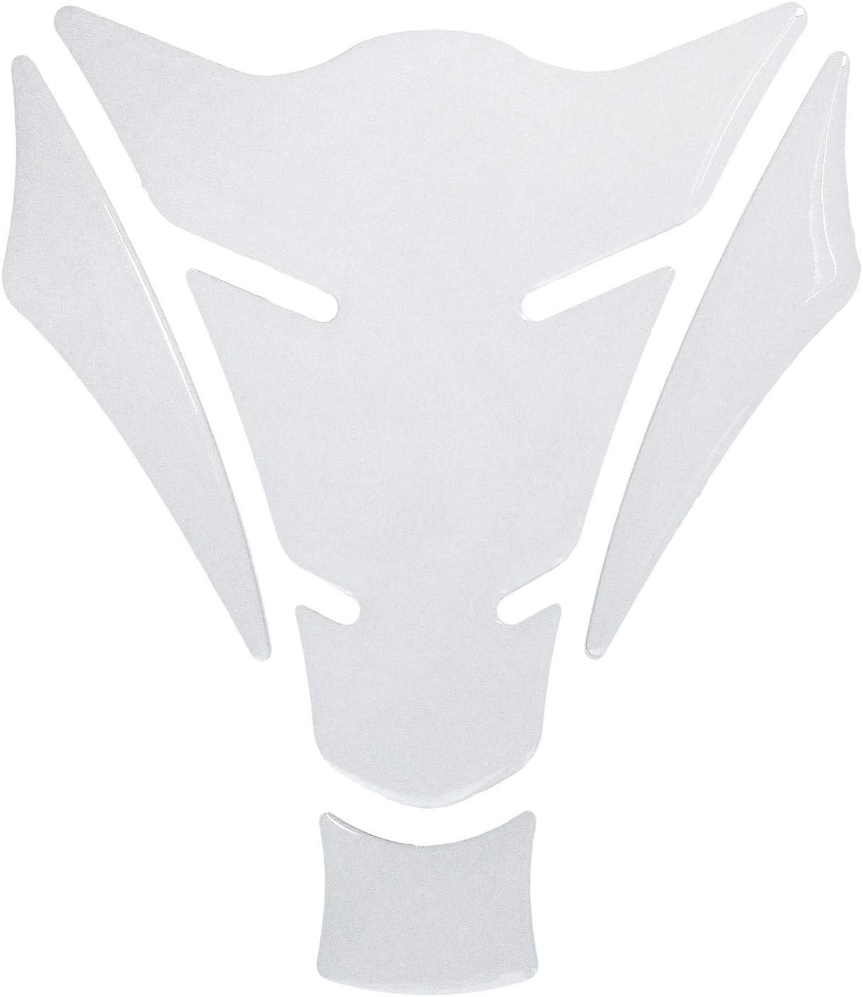 BIKE-label 501340-VA Tankpad Motorrad Aufkleber Wei/ß White