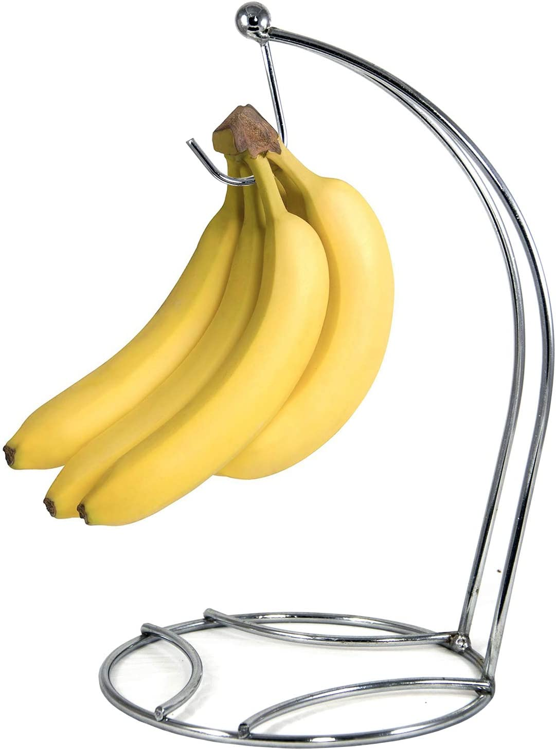 Banana Hanger, Banana Holder, Banana Stand, Grape Hanger Chrome