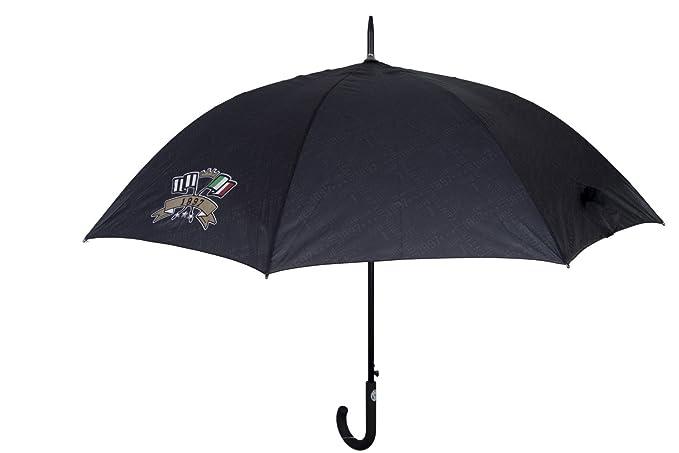 Paraguas hombre largo golf JUVENTUS negro automático LOGATO mango curvo Q945