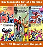 Mandrake Comics Set of 5 Digests In English
