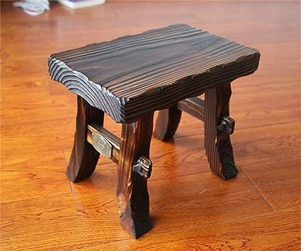Spessore home retro sgabello in legno sgabello piccolo sgabello