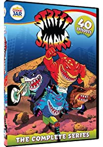 Street Sharks: The Complete 40 Episode Series [Reino Unido] [DVD]