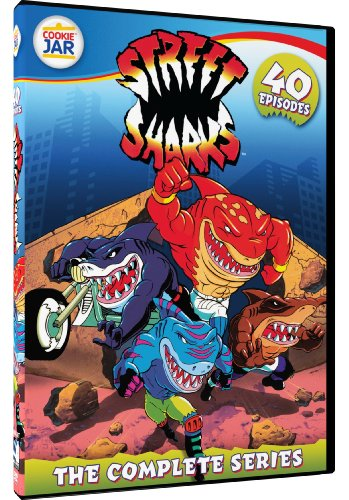 Street Sharks - The Complete 40 Episode - Toys Kids 1990 Motorcycle