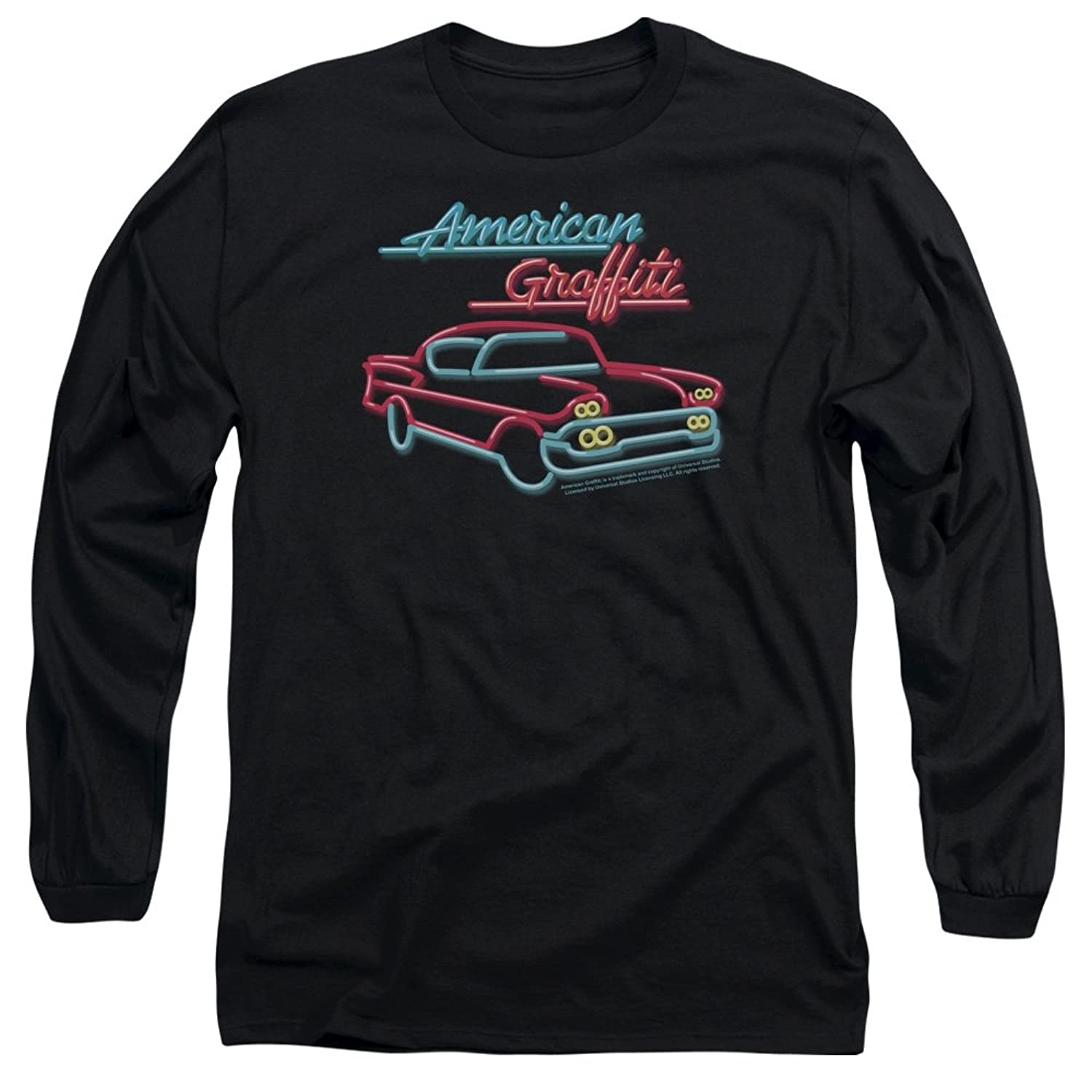 American Grafitti - Mens Neon Long Sleeve T-Shirt