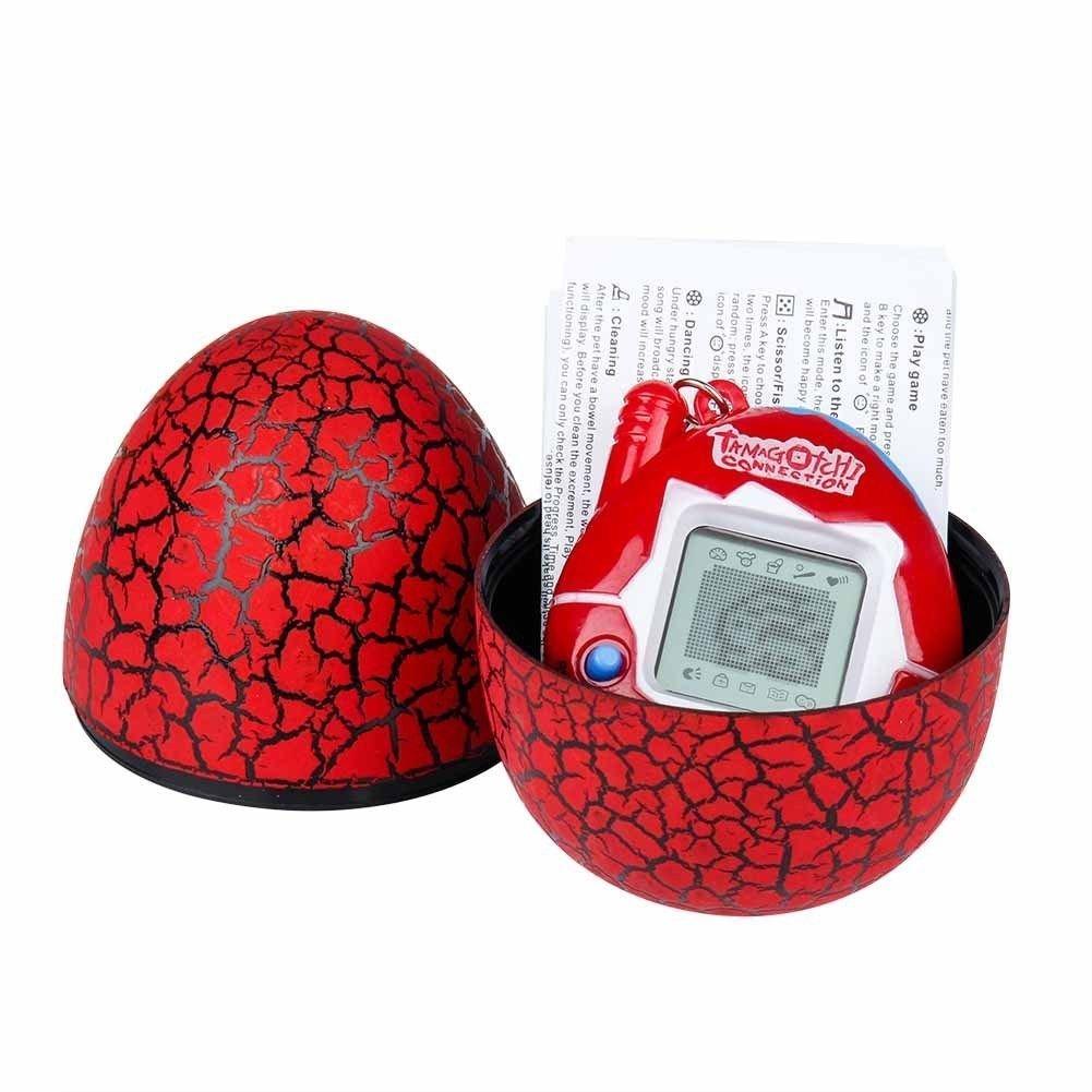 LCsndice 90er Jahre nostalgische Spielzeug elektronische virtuelle Pet Game Egg Kinder Halloween Weihnachtsgeschenk