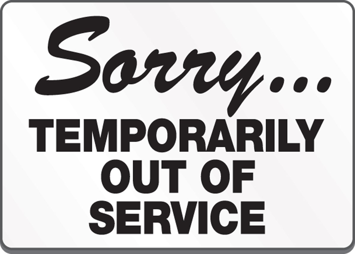 79 restroom signs sorry temporarily out of service signs for Bathroom out of order sign
