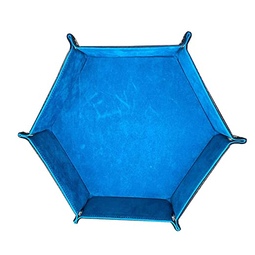 TOPBATHY - Bandeja de Dados Hexagonal Plegable para Escritorio ...