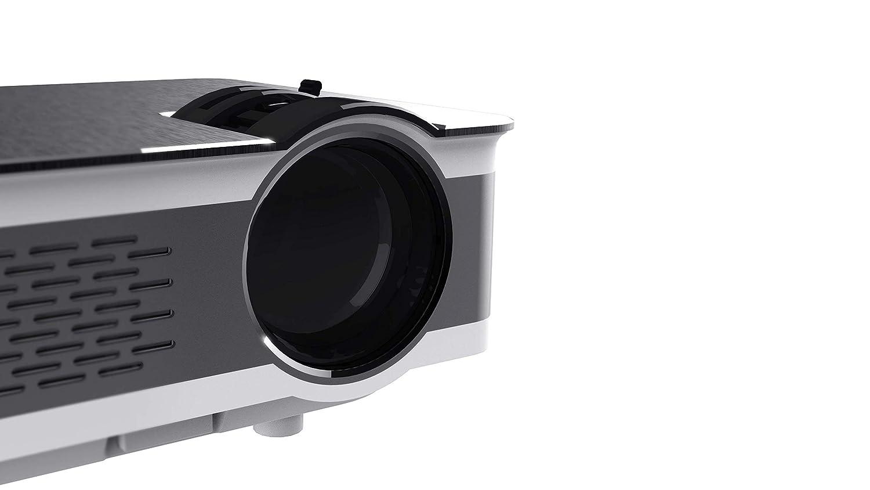 XINDA (2019 versión actualizada 2) Proyector de vídeo Full HD ...