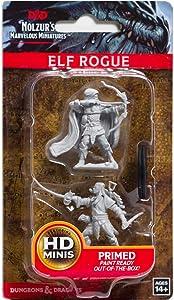 Dungeons & Dragons Nolzur's Marvelous Miniatures - Male Elf Rogue