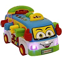higadget Musical Toys for Kids, Educational Learning Toys (Fun Bus)