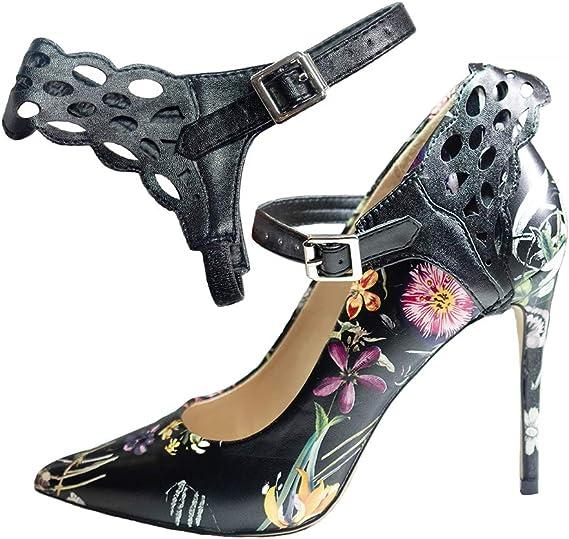 Removable Leather Shoe Strap Decor Stylish Metals Buckles Accessories Detachable