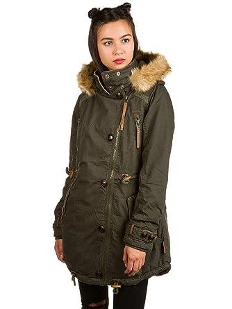 Naketano Damen Jacke Grünwalds Herbstsonne II Jacke  Amazon.de ... 89265bd52d
