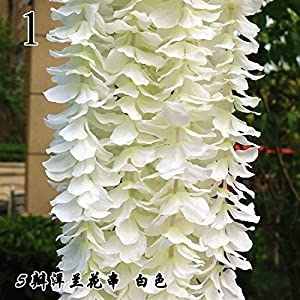 FYYDNZA 1Pcs Wedding Emblem Orchid Strings Wholesale Flower Wedding Arrangement Hydrangea String Flower Wedding Decoration For Weddings 91