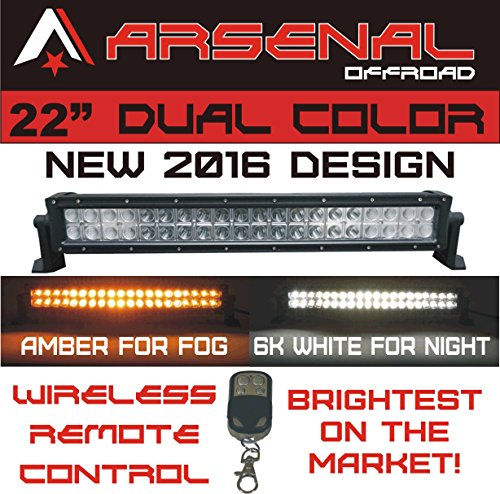 1 22 dual color amber white wireless