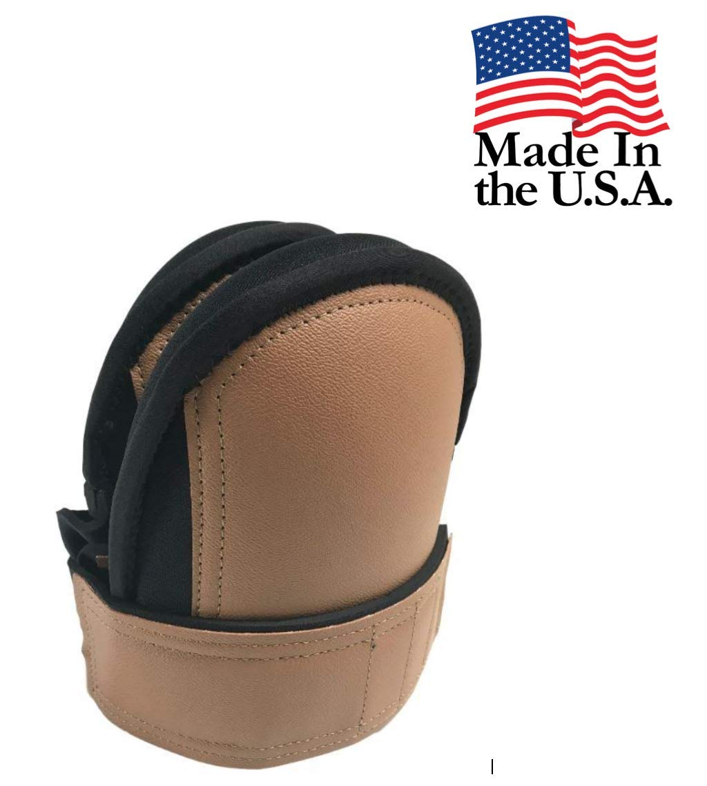 Troxell USA - SuperSoft LeatherHead Kneepads (Bagged in Pairs)