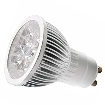 110V 4W GU10 LED Bulb   6000K Daylight LED Spotlight   50Watt Equivalent    330 Lumen
