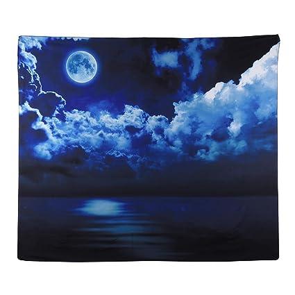 Broadroot Toalla de playa redonda, suave, decorada, manta hermosa, de secado rápido