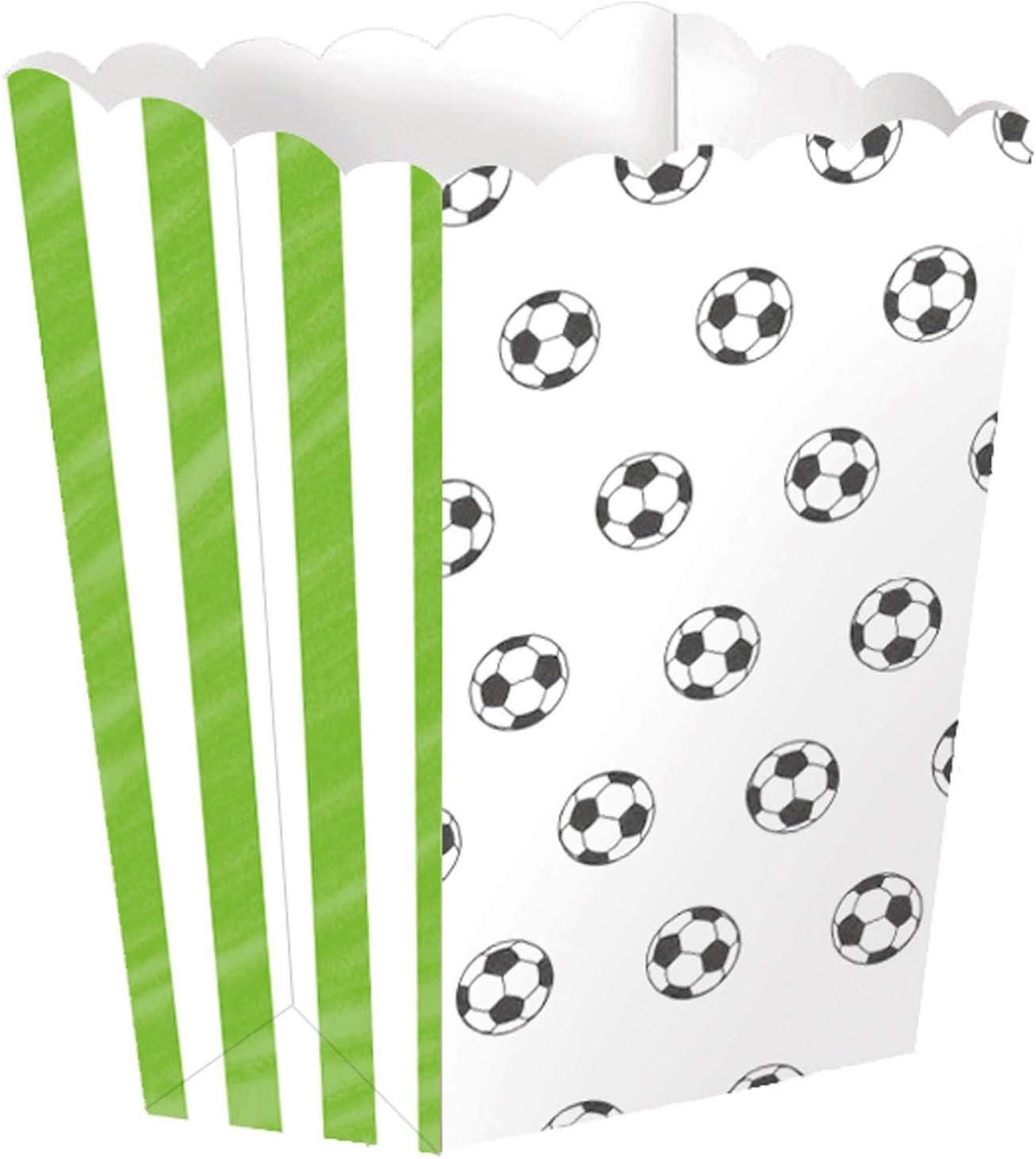 amscan 11012162 - Cuenco para palomitas, diseño de fútbol: Amazon ...