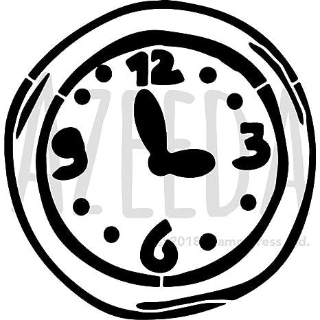 A3 Reloj de Pared Plantilla de Pared / Estarcir (WS00030814)
