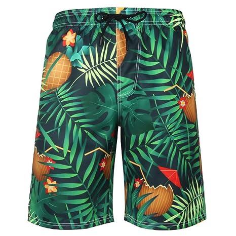 zbinbin Pantalones De Playa Pantalones De Baño De Secado Rápido ...