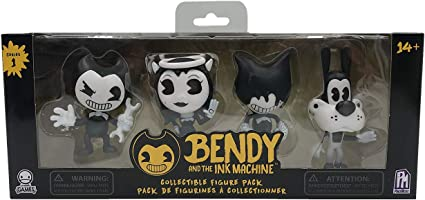 4 Figures Bendy and the Ink Machine Collectible Figure Pack