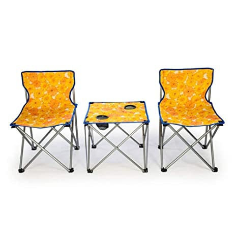 RSUMMER Mesa Plegable y sillas al Aire Libre Balcón Mesa de ...