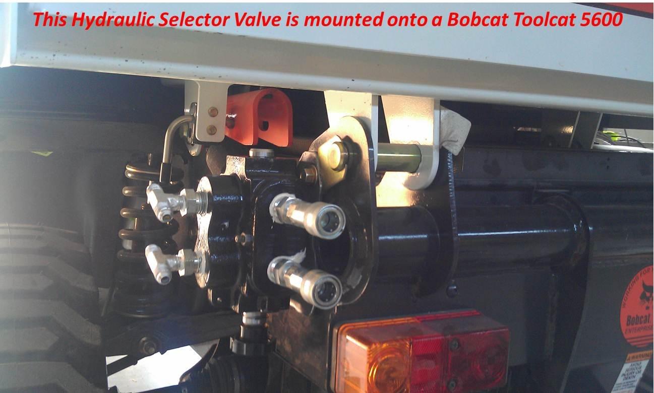 Amazon com: UTV Hitchworks Hydraulic Selector Valve for
