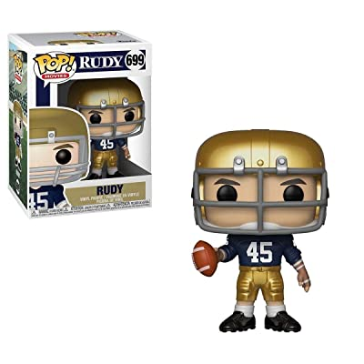 Funko POP! Movies: Rudy - Rudy: Toys & Games