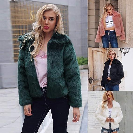 Amazon.com: Women Winter Warm Sweaters Coat Jacket Parka ...