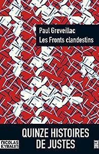 Les Fronts clandestins par Paul Greveillac