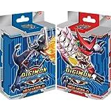 Digimon Fusion Collectible Card Game Set of Both Starter Decks [Greymon & Shoutmon]