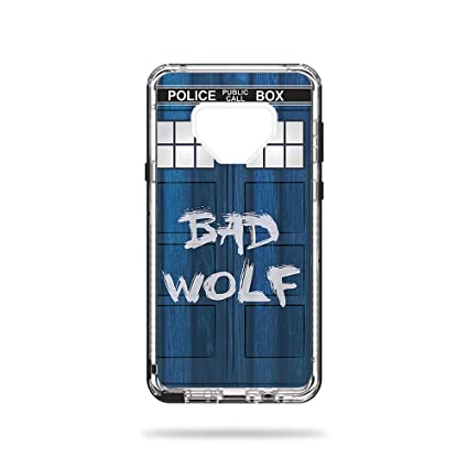 new style d6364 cd6f0 MightySkins Skin for LifeProof Next Galaxy Note 9 - Time Lord Box |  Protective, Durable, and Unique Vinyl Decal wrap Cover | Easy to Apply,  Remove, ...