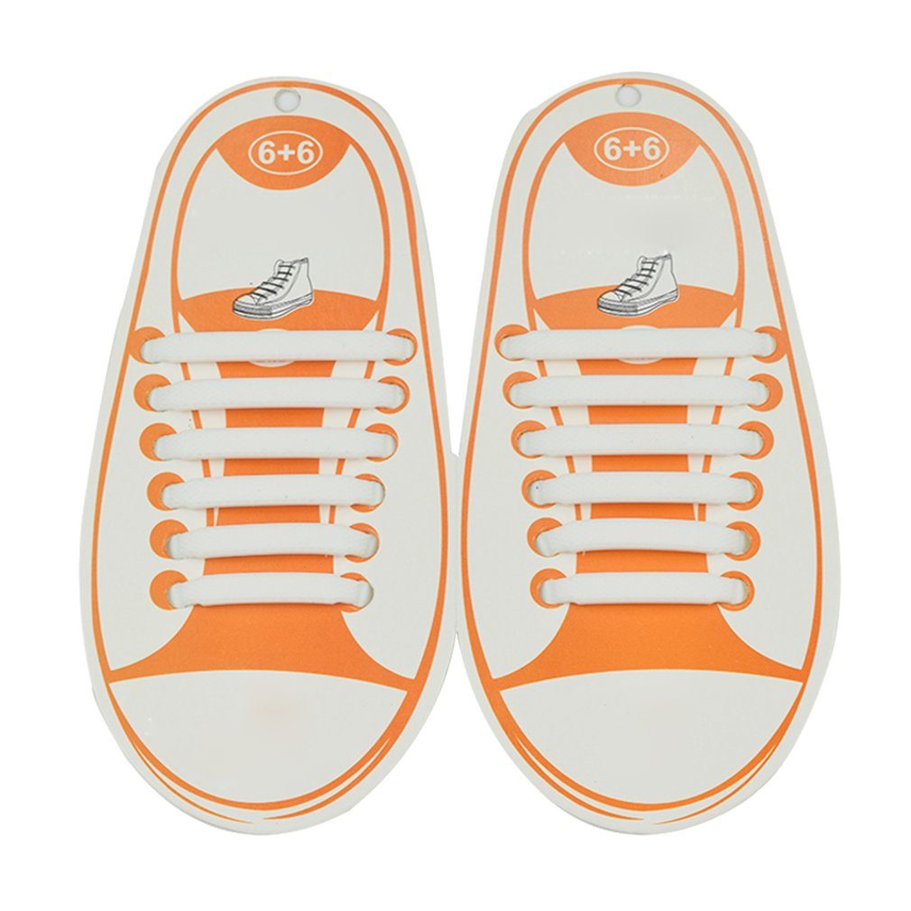 Kootk Silicone Lacci per Scarpe Elastici Bambini Shoelaces ... 952e6f3ab2b