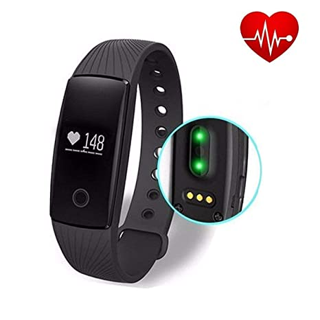 amazon com ativafit fitness tracker with heart rate monitor