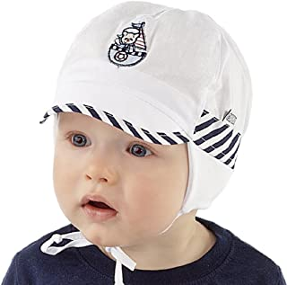 Boys Sun Hat Holiday Beach Summer Hat 0 2 3 6 9 12 months NEW Marine Collection Baby Boy (44cm 6-9 mths)
