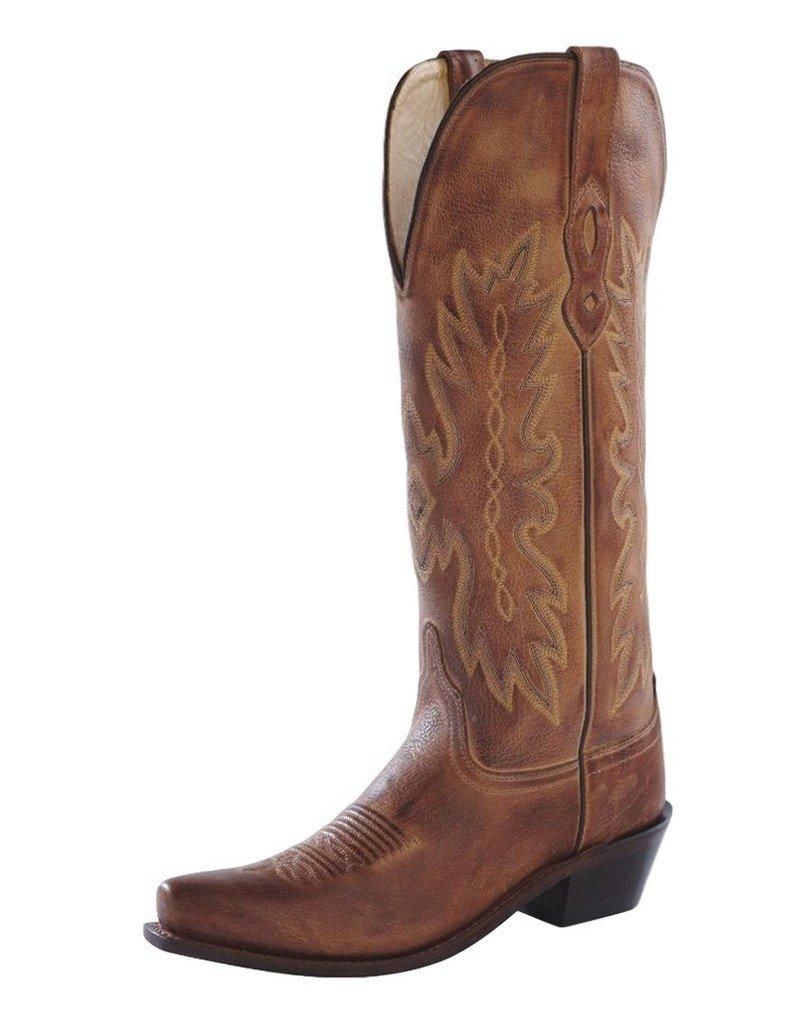Old West Boots Women's TS1541 Tan Canyon 8 B - Medium