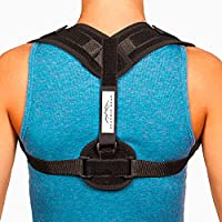 Posture Corrector for Women & Men - Comfortable and Effective Back Brace against Slouching & Hunching - Subtle Design - Clavicle Support For Medical Problems & Injury Rehab