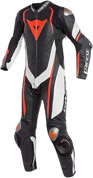Amazon.com: LEATHERAY Moda Moto Moto Moto Dainese Piel Real ...