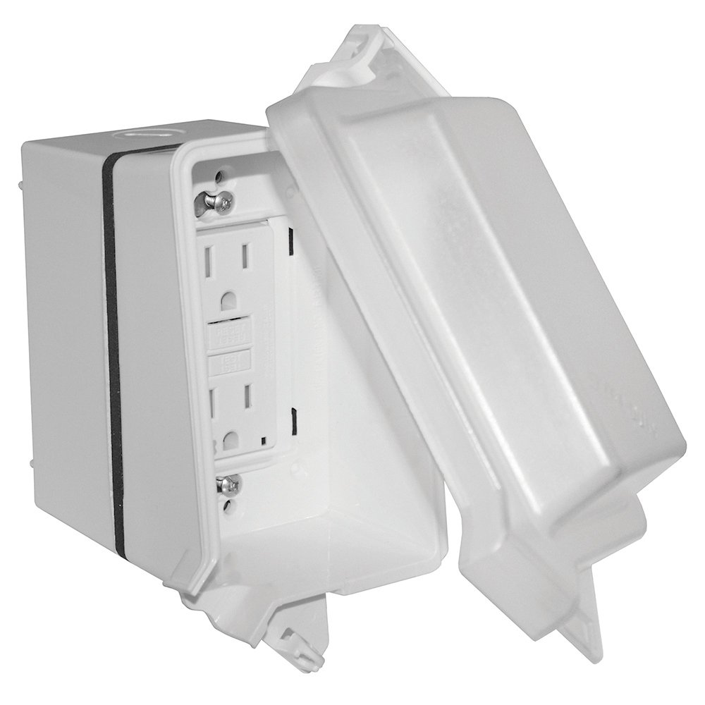 Sigma Electric 16801WH Kit of While in Use Cover and, White