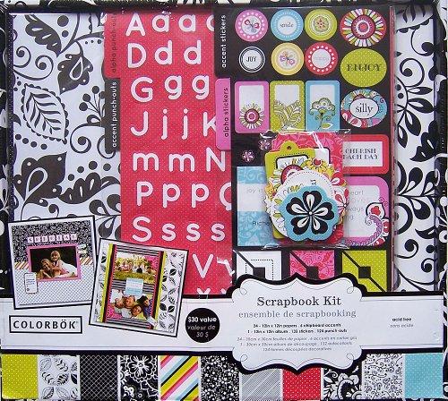 Colorbok Fruit Punch Scrapbook Kit 12 x 12 (Kit Colorbok Scrapbook)