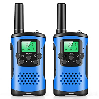 Walkie Talkies for Kids, Mini 22 Channels Radio Toy for 3-12 Year Old Boys Girls Gift, 3 Mile Range Kids Walkie Talkies for Outdoor Camping Game: Toys & Games
