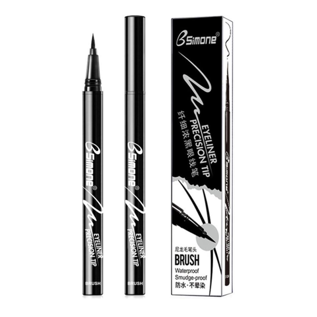❤JPJ(TM)❤️ Girls Eyeliner,Women New Waterproof Eye Liner Pencil Black Liquid Eyeliner Pen Beauty Makeup Cosmetic (B)