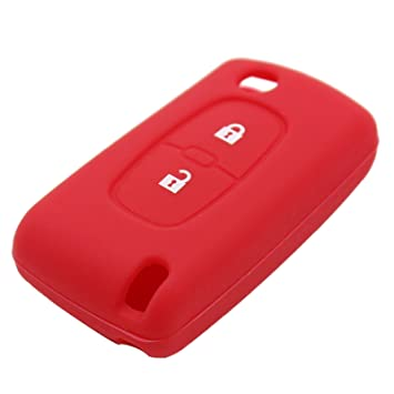 Para Peugeot 206 207 307 407 308 607 2 botones de goma suave ...