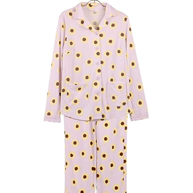 pijama de algodón de otoño/Impresos pijamas chándal suaves/ yukata: Amazon.es: Ropa y accesorios