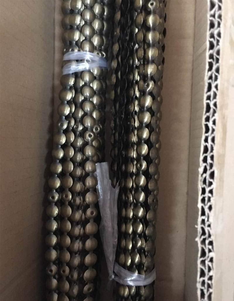 Dalab (100 Meters/Lot) 11MM Tack Strips Antique Brass with Nails +(2500pcs/lot) 11mm Old Brass Tacks Studs Fastener Embellishments - (Color: Antique Brass) by DalaB