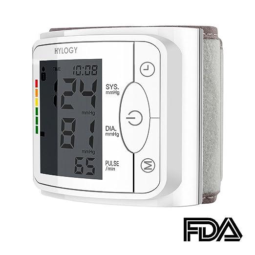 97 opinioni per Misuratore di Pressione da Polso, Hylogy Sfigmomanometro da Polso e Pulsazione