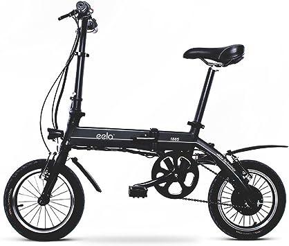 Eelo 1885 Bicicleta eléctrica plegable, portátil y fácil de arreglar